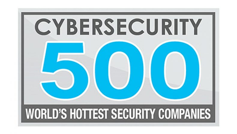 Cronus on Cybersecurity 500 list of world's hottest cybersecurity companies